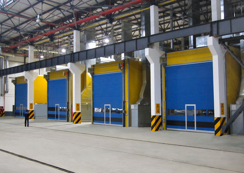 Industrial Painting Booths : Industrial paint booths