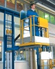 Pneumatic access platforms