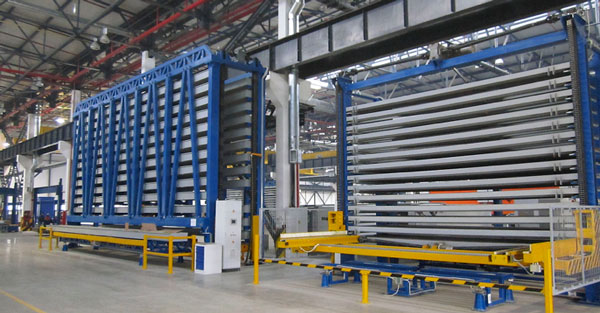Metal roll storage in mechanized storage systems
