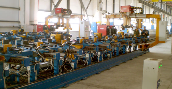 Girders automatic welding